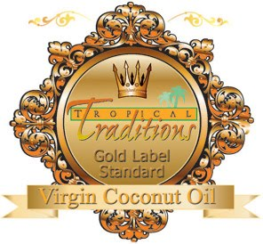 A great ingredient addition to your repertoire: Gold Label Virgin Coconut Oil from Tropical Traditions