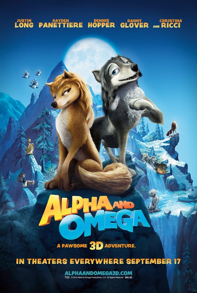 Alpha and Omega 3-D Animation Comedy for the Entire Family!