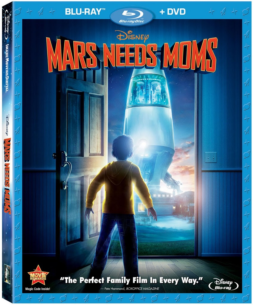 Disney's Mars Needs Moms Comedy Adventure Can Be Yours Here!