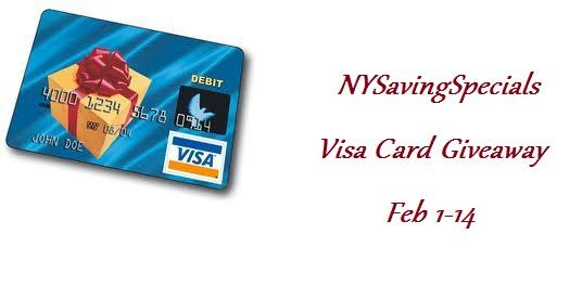 Blogger Free Visa Card Sign Ups