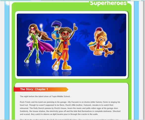 Herotopia: Online Fun Educational Game for Kids