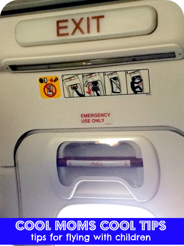 cool moms cool tips #summerconbritax tips for flying with children exit row