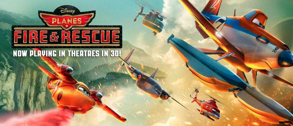 Dusty Soars above our Parks in Fire & Rescue – New Disney Animated Film