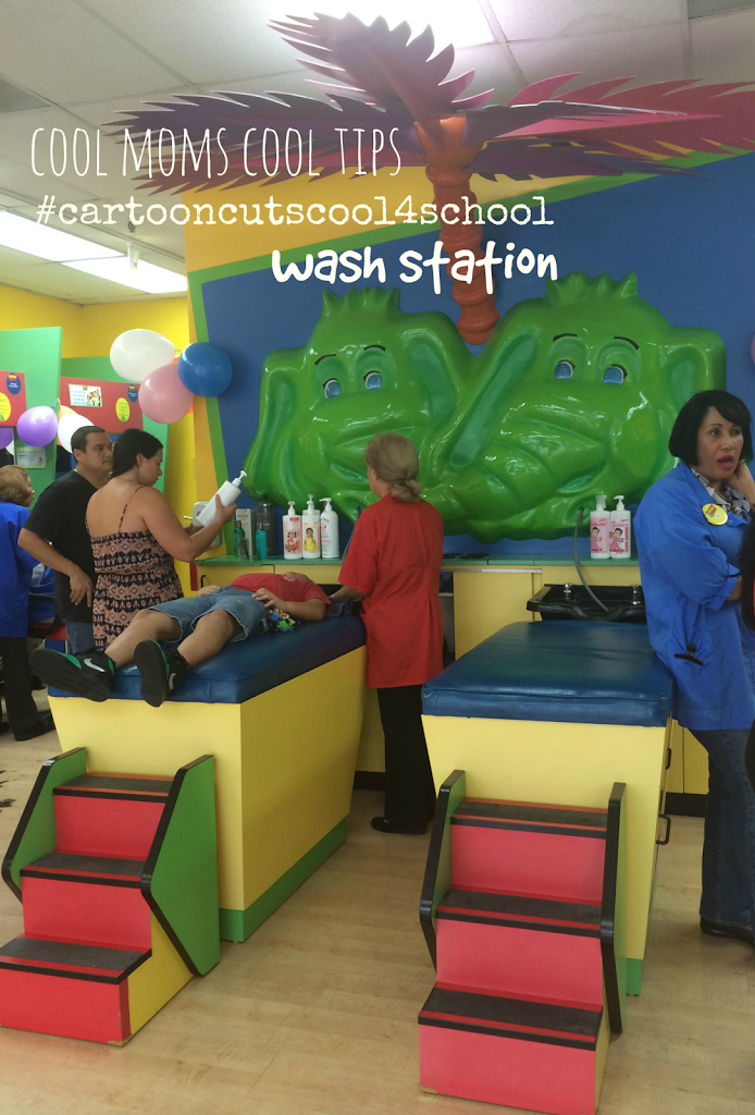 Back to School In Style-Including Hair Cuts for Kids and Mom at Cartoon Cuts