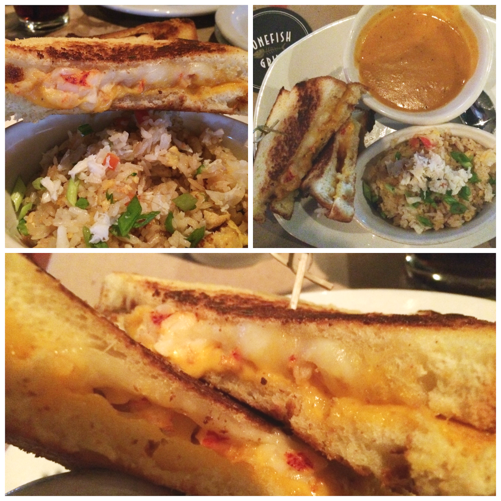 cool moms  cool tips #HelloNewMenu      BoneFish Grill  lobster grilled cheese