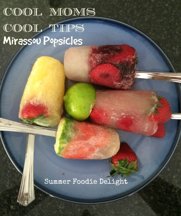 Mirassou Popsicles for Adult Dessert: A Foodie Summer Delight!