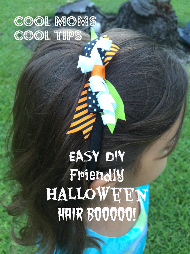 cool moms cool tips DIY halloween headband for girls