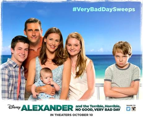 Alexander and the Terrible, Horrible, No Good, Very Bad Day – Disney Movie