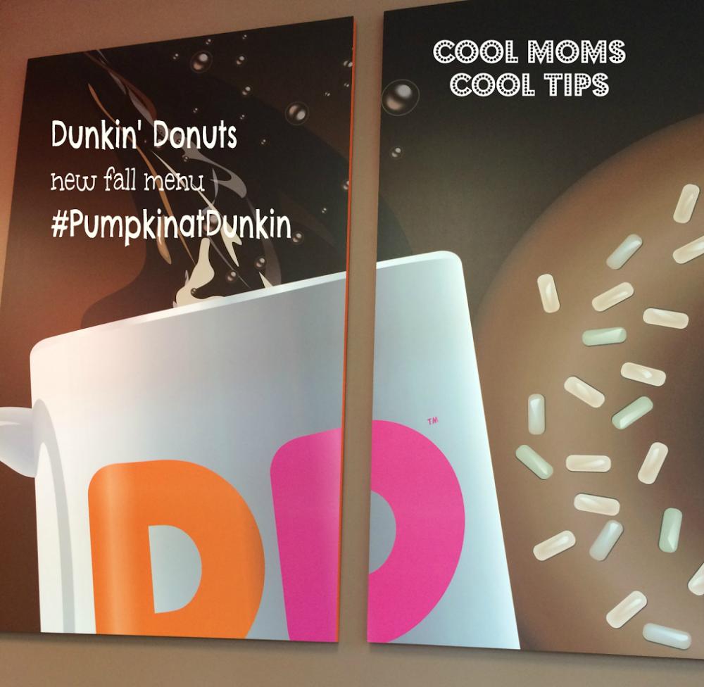 New Pumpkin Spice Fall Flavors at Dunkin' Donuts