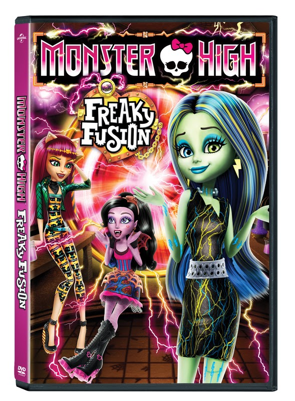 Celebrate Halloween with the Newest Installment of Monster High: Freaky Fusion – DVD and Doll Giveaway