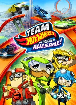 Get Ready for Unbeatable Speed Fun with The First Ever Hot Wheels Animated Movie: Team Hot Wheels; The Origin of Awesome