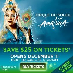 A Great Gift: Tickets to Cirque du Soleil – Holiday Gift Guide