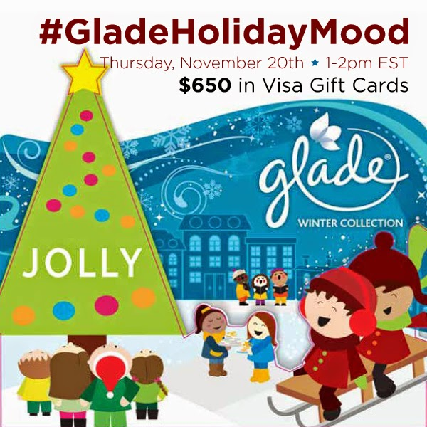 Party!! Fiesta!! Twitter Party 11/20 #GladeHolidayMood Join Us! – Unete! #ad