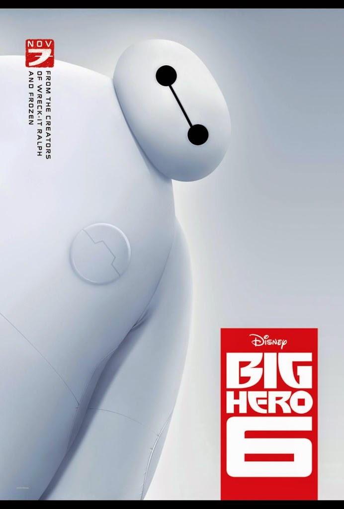 Disney's Big Hero 6 at Theaters November 7th- It gets Two Thumbs Up at Our Home