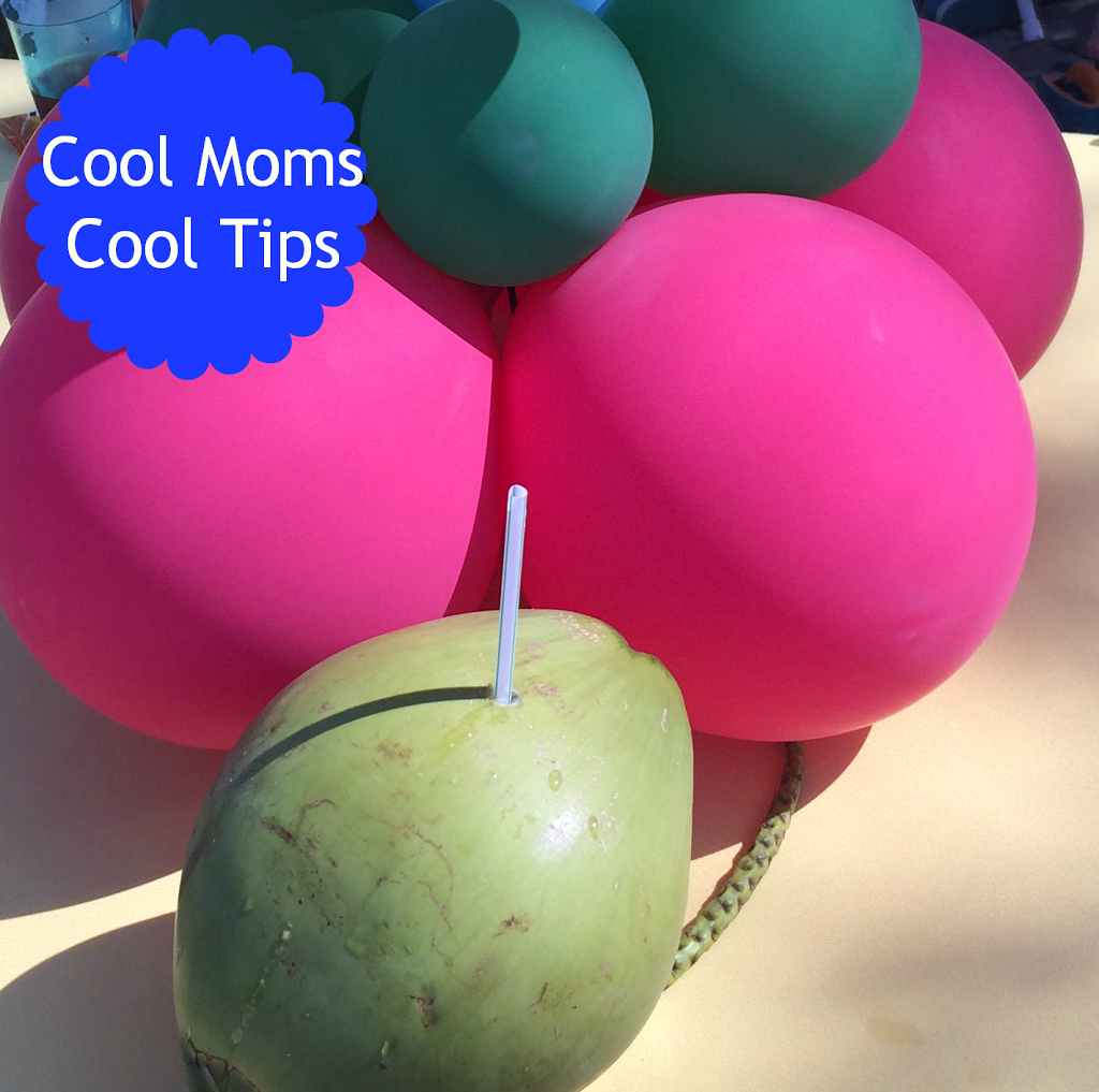 cool moms cool tips summer DIY natural coconut water coconuts enjoy