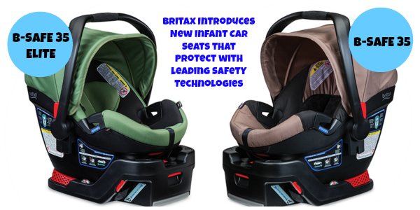 Celebrate New Britax Infant Car Seats with a Giveaway!