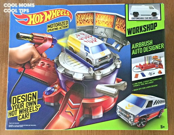 Hot Wheels AirBrush Auto Designer – Holiday Gift Guide