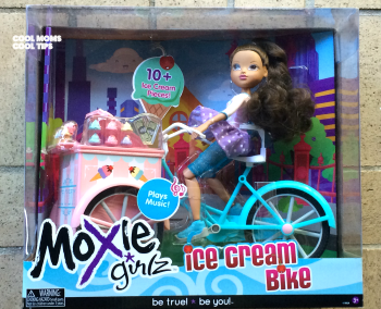 Moxie Girlz Ice Cream Bike and Doll Review & Giveaway – Holiday Gift Guide