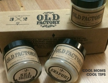 cool moms cool tips #sponsored old factory candles vacation set HGG