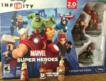 Disney Infinity: Marvel Super Heroes Sera El Regalo Perfecto Para El Dia de Reyes!