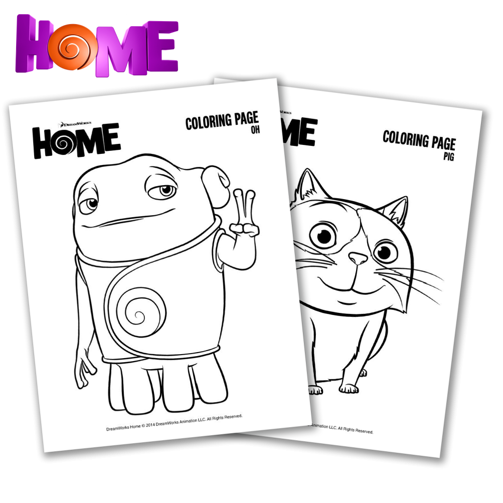 Home Alone Coloring Pages
