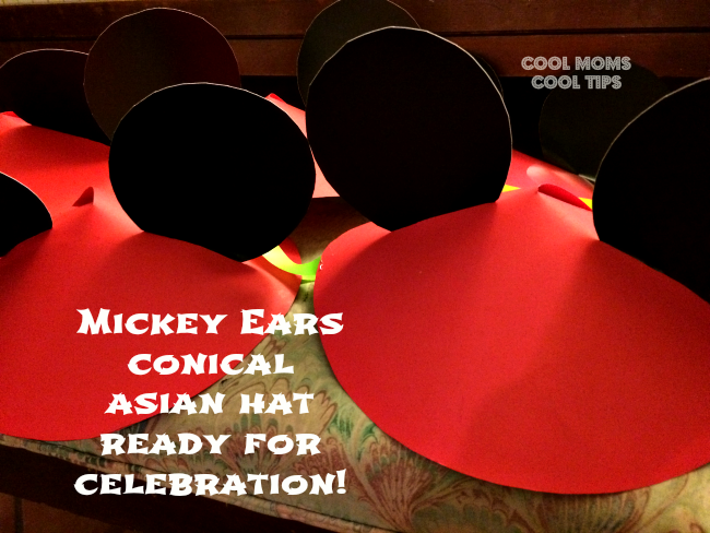 Conical Asian Mickey Hats #Disneyside