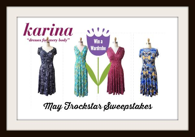 Karina Dresses #Frockstar Giveaway for May