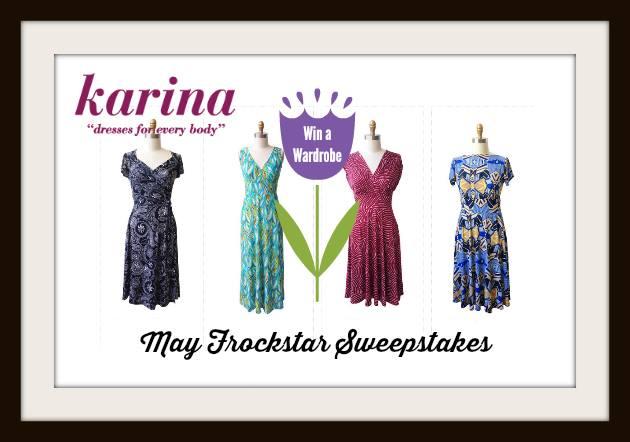 Karina Dresses #Frockstar Giveaway for May