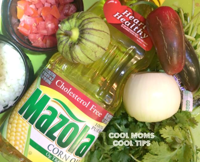 ingredientes-para-salsa-nayarit-cool-moms-cool-tips #ad #MazolaPlatoSano