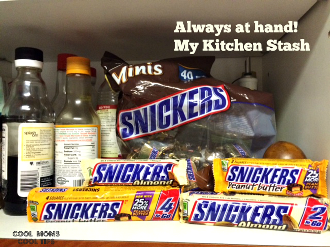 kitchen-stach-snickers-cool-moms-cool-tips #ad #whenimhungry
