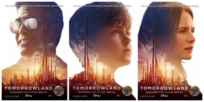 #TomorrolandEvent Updates: New Featurette and New Character Posters