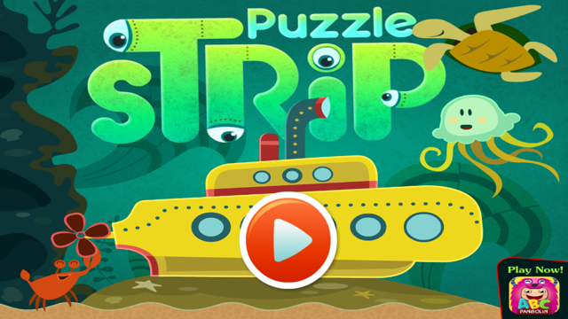 Sea Puzzle App Game For Kids by Kids