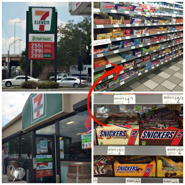 snickers at 7 eleven cool-moms-coo-tips #ad #whenImHungry