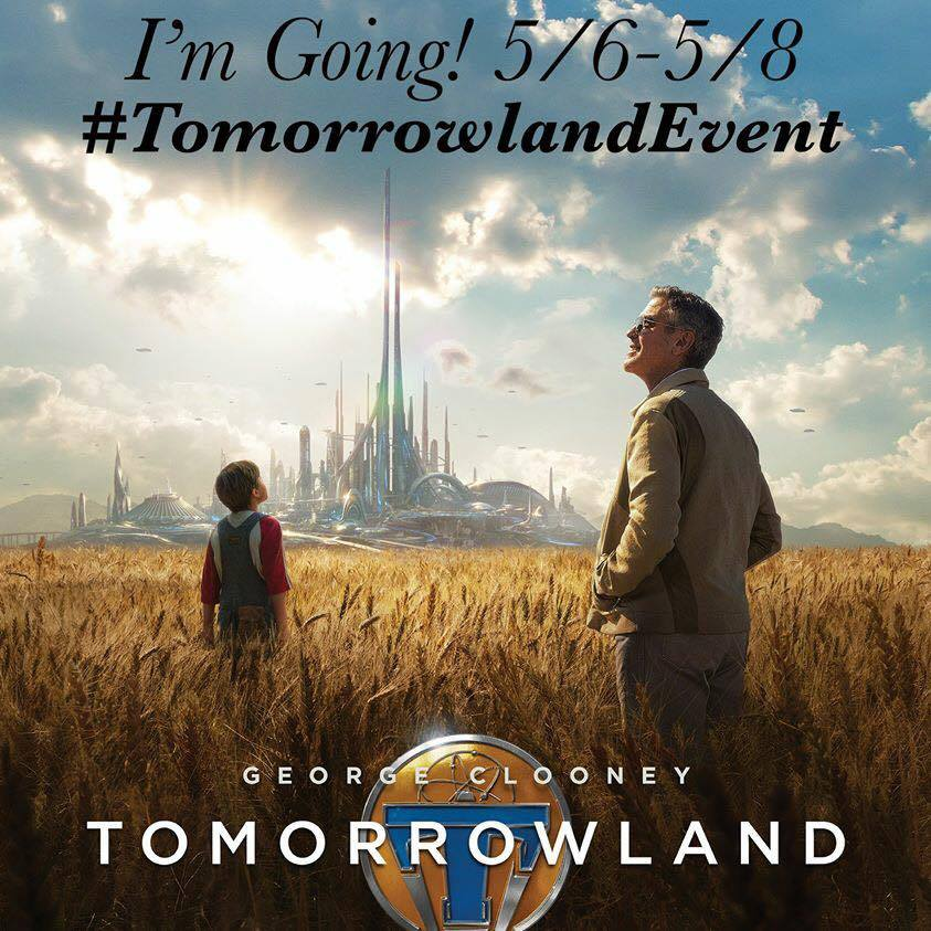 Disney's Tomorrowland Awaits Your Questions #Tomorrowland #TomorrowlandEvent