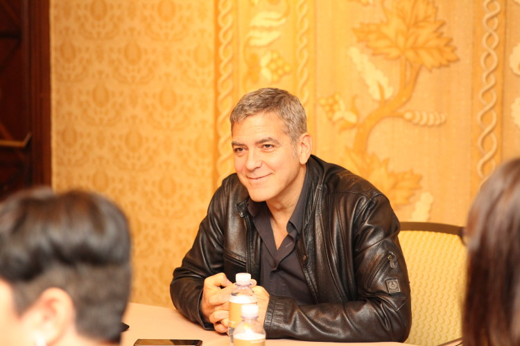 Exclusive George Clooney Interview Reveals Behind the Scenes Fun -Tomorrowland #Tomorrowland #TomorrowlandEvent