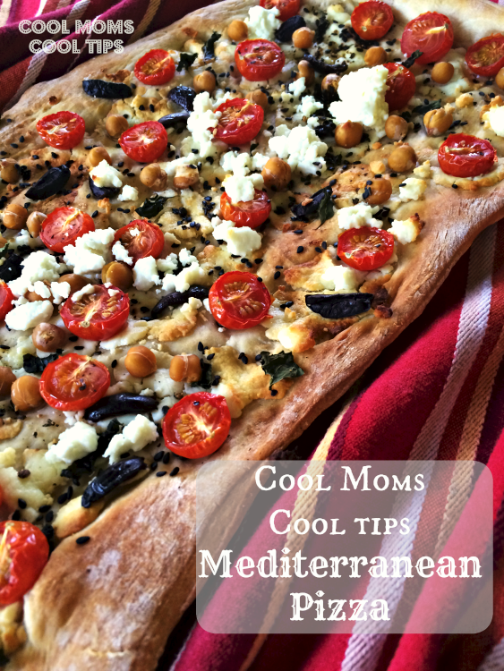 Grilling Mediterranean Style Pizza