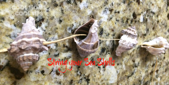 string-sea-shells-cool-moms-cool-tips