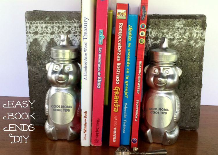 Easy And Fun Book Ends DIY