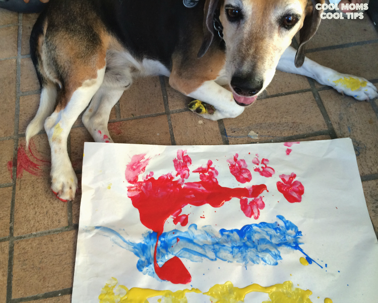 the-doggie-artist-watercolor-cool-moms-cool-tips #amorbeneful #ad