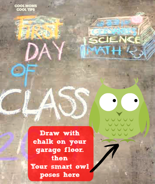 DIY-chalk-for-first-day-of-school-cool-moms-cool-tips #ad #spoonfuloffun