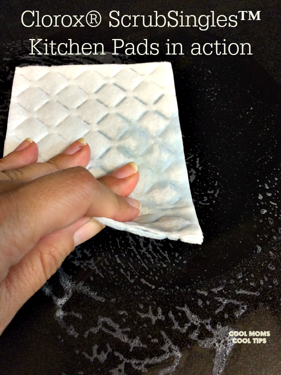 clorox-single-pads-in-action-cool-moms-cool-tips #ad
