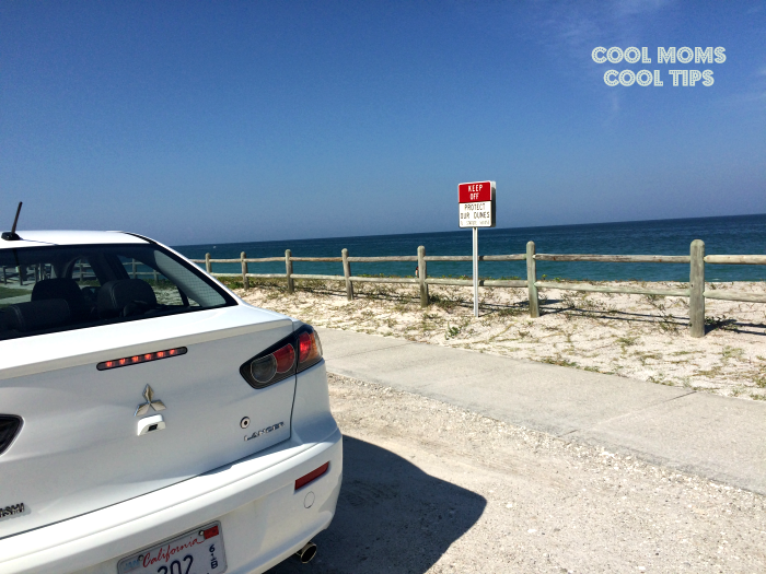 The Mitsubishi Lancer Pumps Up Your Vacation