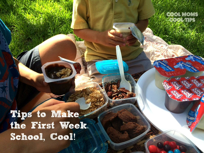 Tips to Make the First Week of School Cool