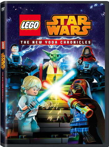 LEGO® STAR WARS: The New Yoda Chronicles DVD