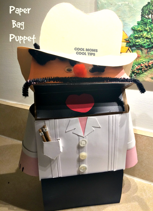 Paper Bag Cuban Puppet DIY to Celebrate Hispanic Heritage Month