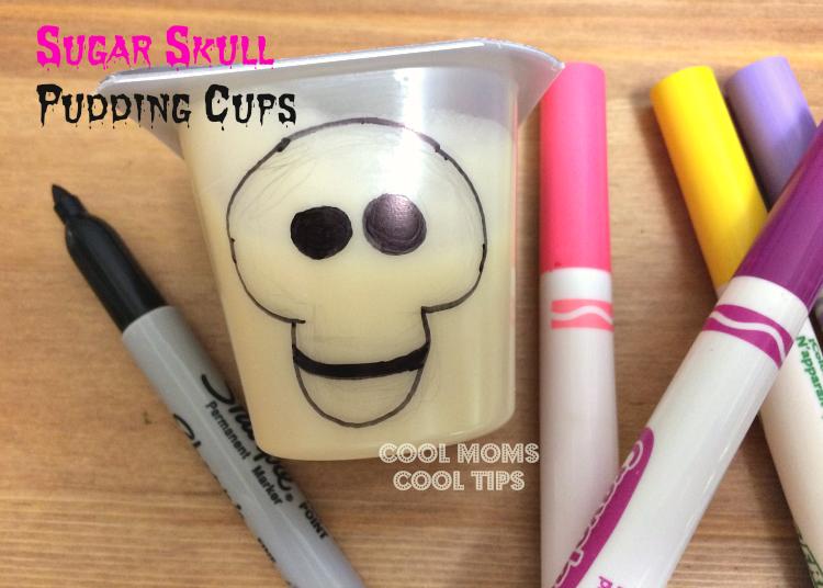 sugar-skulls-pudding-cups-materials-cool-moms-cool-tips #ad #spoonfuloffun