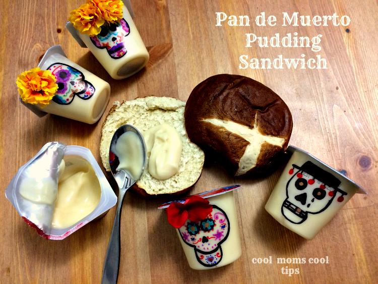 sugar-skulls-pudding-cups-pan-de-muerto-sandwich-cool-moms-cool-tips #ad #spoonfuloffun