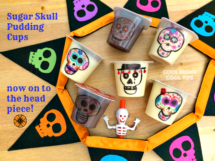 sugar-skulls-pudding-cups-ready-for-flowers-cool-moms-cool-tips #ad #spoonfuloffun