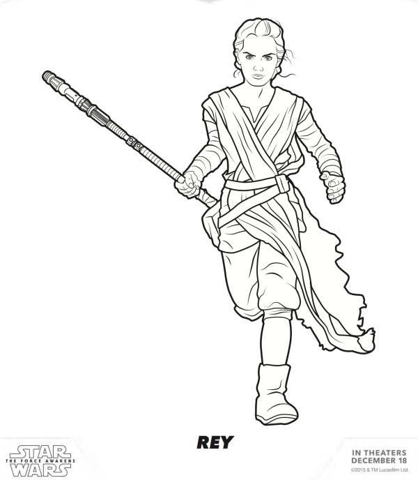 star wars coloring sheet image