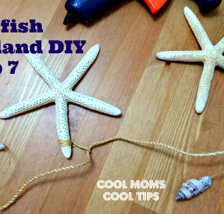starfish garland step 7 cool moms cool tips